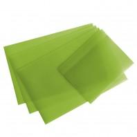 GOURMETmaxx Kühlschrankmatten 4er-Set limegreen