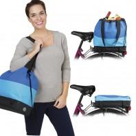 EASYmaxx Fahrradtasche in Blau - Freisteller 1