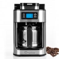 Barista Kaffeeautomat 1050 W Edelstahl mit integriertem Mahlwerk - Freisteller