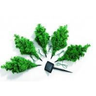christmaxx Solar-Tannenbäume - Lieferumfang