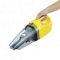 cleanmaxx Akku Fensterreiniger 3in1 inkl.Reinigungskonzentrat, gelb - Freisteller