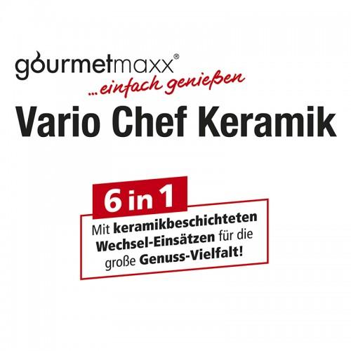 gourmetmaxx vario chef keramik