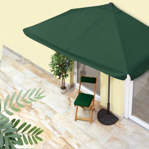 easy!maxx Balkon-Sonnenschirm, rechteckig, mit 40+ UV-Schutz -beige
