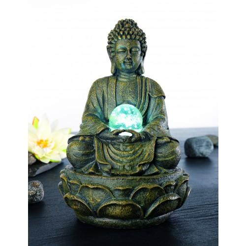 buddha brunnen mit licht projektname. Black Bedroom Furniture Sets. Home Design Ideas