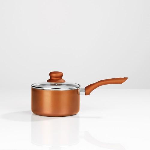 bratmaxx keramik kochtopf set 6 tlg 16 20 24 cm kupferfarben inkl glasdeckel. Black Bedroom Furniture Sets. Home Design Ideas