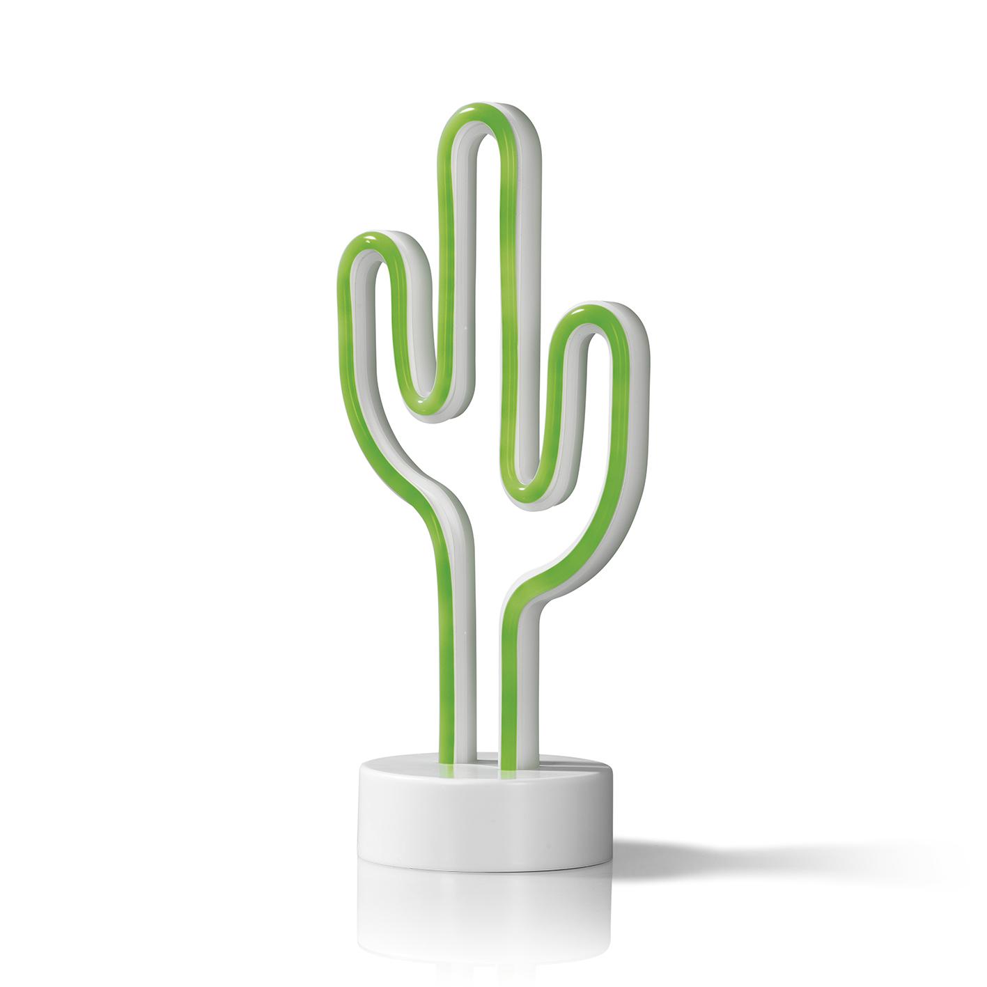 Easymaxx Led Dekoleuchte Kaktus Batterie Grun Neon 80er Retro Lampe Desgin Dg Kg