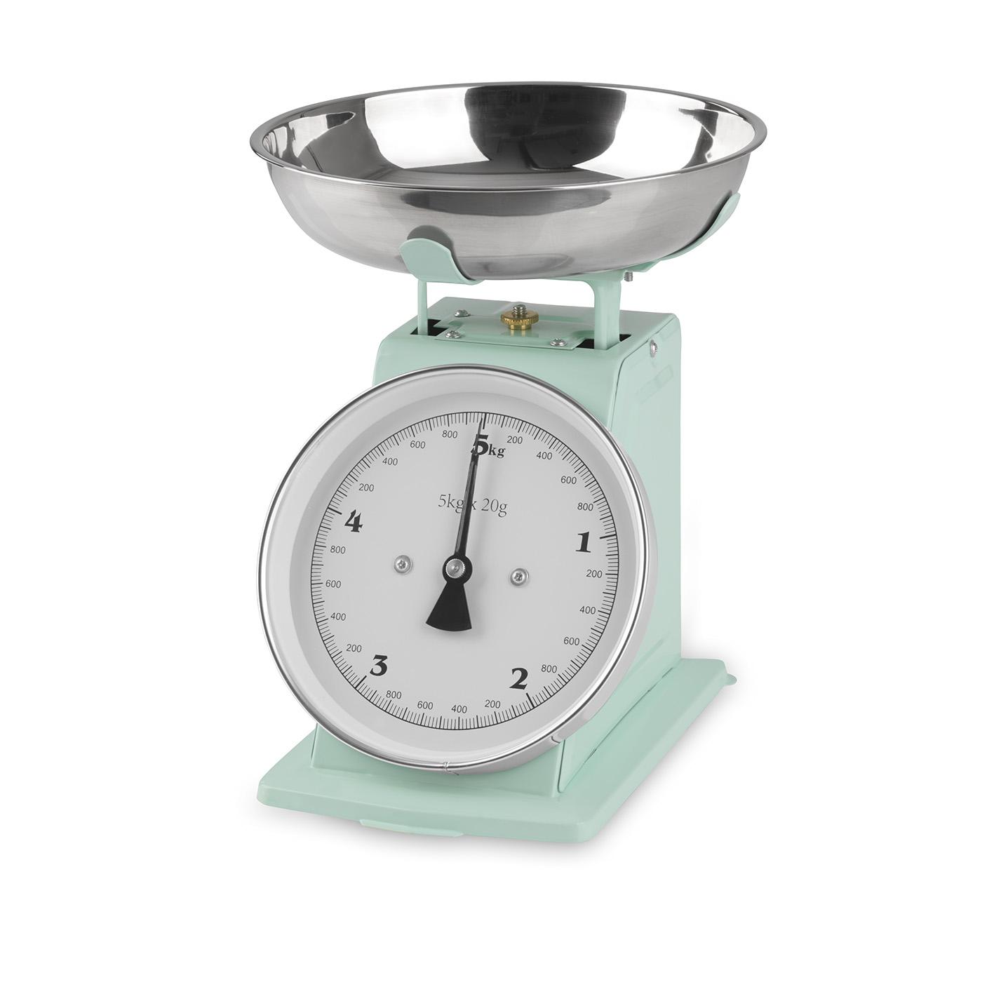 Gourmetmaxx Bilancia da Cucina Incl Coppa Vintage Mint Analogico Meccanica
