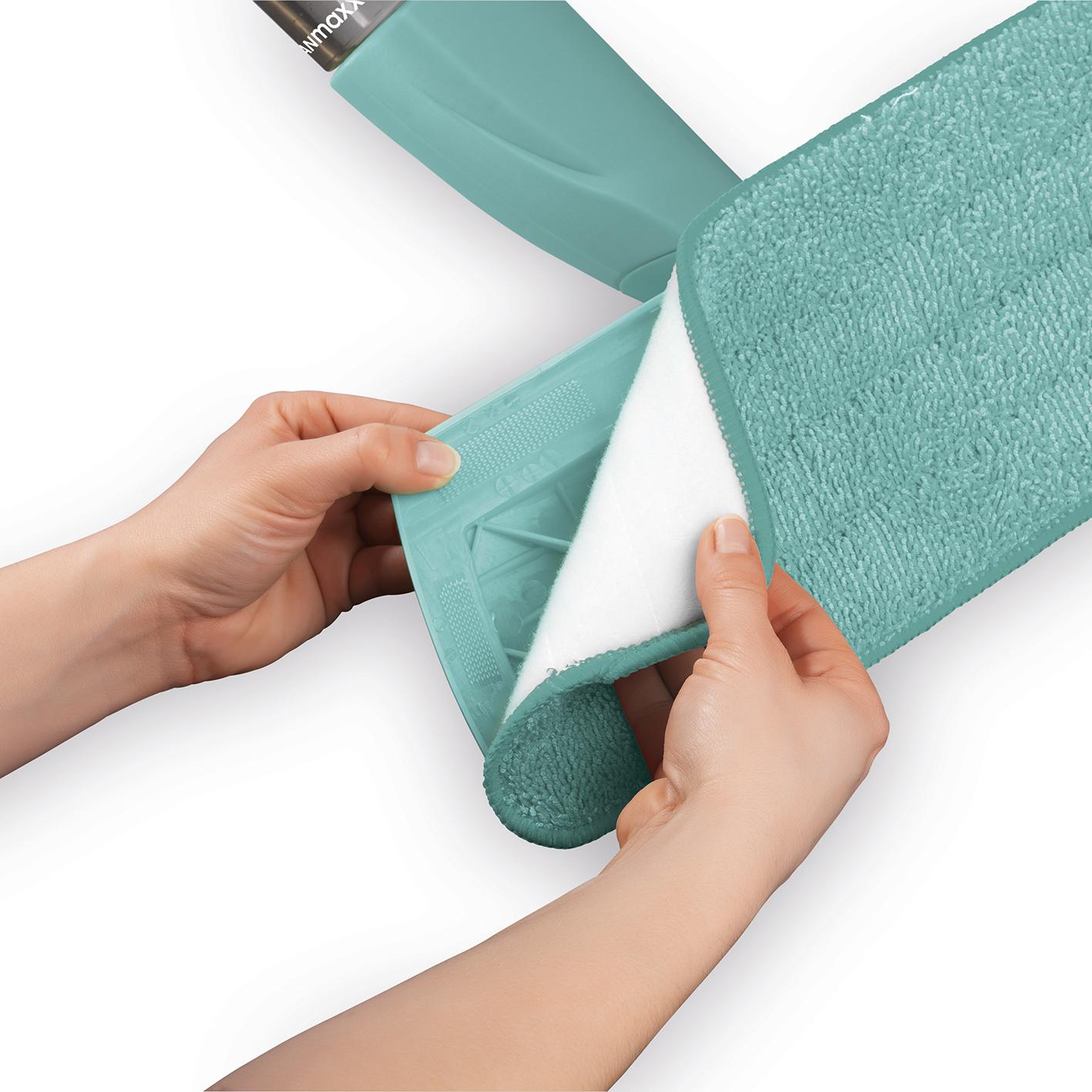 cleanmaxx spray mopp mit 600ml tank wischer mob spr hen. Black Bedroom Furniture Sets. Home Design Ideas
