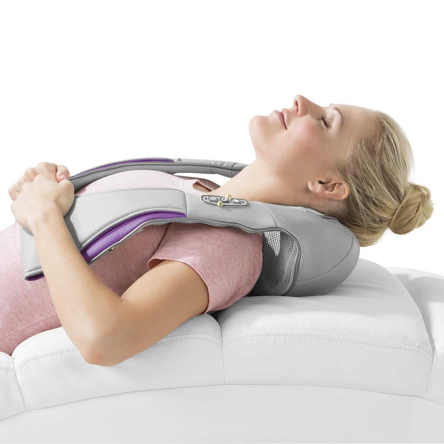 Shiatsu Massagegerät Wärmefunktion Nacken Schulter Entspannung