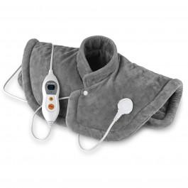 VITALmaxx Wärmekissen Nacken & Rücken 100 W in Grau - Freisteller 1