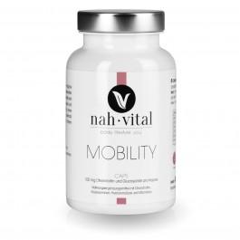 nah-vital Mobility Caps   120 Kapseln für 4 Monate   mit Vitamin C, E, K, Chondroitin, Glucosamin, Hyaluronsäure