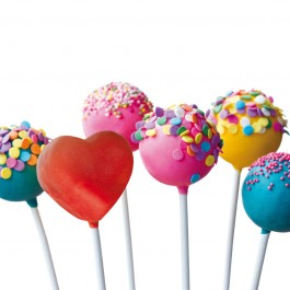 gourmetmaxx Popcake-Stiele 72-teilig - Anwendung