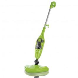 CLEANmaxx Dampfbesen 3in1, limegreen - Freisteller