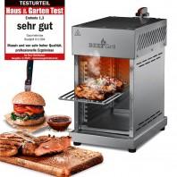 GOURMETmaxx BEEF Grill - Oberhitze-Gasgrill - Edelstahl