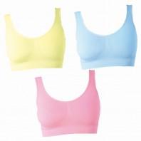 Figur Body - Traum-BH 3er Set, gelb/rosa/blau - Farbvarianten