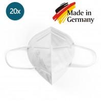 Atemschutzmaske FFP2 - DEKRA zertifiziert - 20er-Set