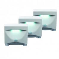 easy!maxx LED-Sensorlicht, 3er-Set - Setbild