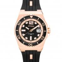 Otumm Damen-Armbanduhr Diver Ibiza 40 mm, schwarz - Frontansicht