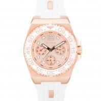 Otumm Damen-Armbanduhr Diver Ibiza 40 mm, weiß - Frontansicht