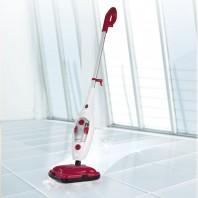 MAXXMEE Dampfbesen - Bis zu 20 Minuten Dauerdampf - weiß/rot