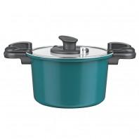 BRATmaxx Keramik-Energiespartopf in Smaragd - Freisteller