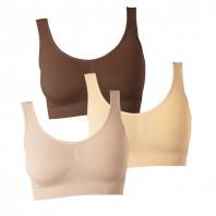 Figur Body - Traum-BH 3er Set, schoko/creme/vanille - Freisteller