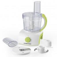 GOURMETmaxx Küchenmaschine 350W in Weiß/Limegreen - Freisteller