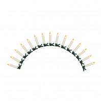 CHRISTmaxx Kerzenzauber Outdoor kabellos 15er-Set 1,5 V cin Ceme mit Fernbedienung + Timer - Freisteller 1