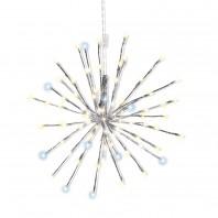 CHRISTmaxx LED-Stern 3,6W  in Silber/Weiß