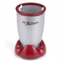 Mr. Magic Küchenmaschine in Silber-Rot