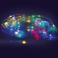 EASYmaxx LED-Lichtschlauch 5m 4,5V in Transparent