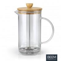BEEM COFFEE PRESS Kaffeebereiter - 1 l | 8 Tassen | French Press | Bambus
