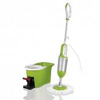 cleanmaxx Spin Steam Mop 3in1, limegreen - Freisteller