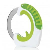 GOURMETmaxx Schneidrad Cut`n Roll in Grün-Weiß - Freisteller