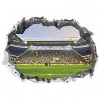 """BVB Wandtattoo """"Signal Iduna Park"""" - 3D-Effekt - mit Leuchteffekt"""