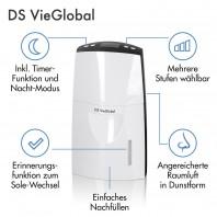 DS VieGlobal Thermalsole-Verdunster - 2,5W - weiß/grau