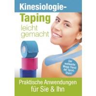 """Buch """"Kinesiotaping leicht gemacht"""" DIN A6"""