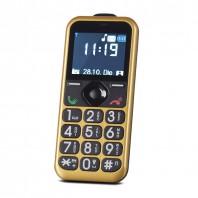 EASYmaxx Handy für alle in Gold - Freisteller