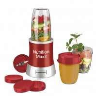 GOURMETmaxx Nutrition Mixer 13-tlg. 700 W in Rot - Freisteller 1